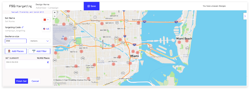 geofencing based ads for restaurant and hotels